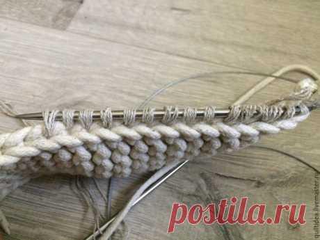 Вяжем лапти из льна - Ярмарка Мастеров - ручная работа, handmade
