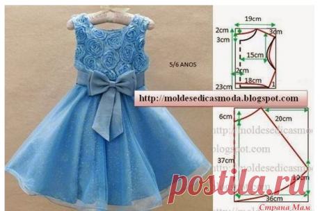 Платья для девочек. Выкройки. Рукоделие идеи и советы handmade | ВКонтакте