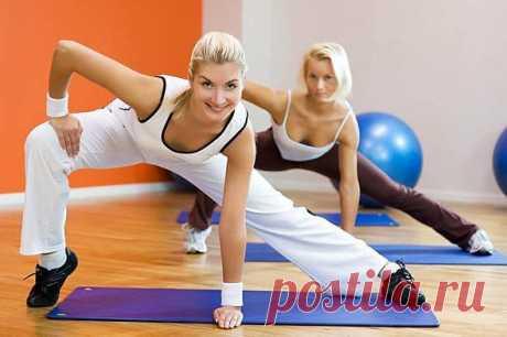 Аэробика комплекс упражнений
