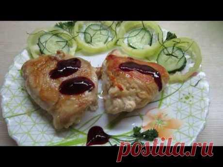 Вкуснятина из филе курицы с сыром и чесноком. - YouTube         #курица #еда #кулинария #рецепты #ОльгаОрлова #вкусно
