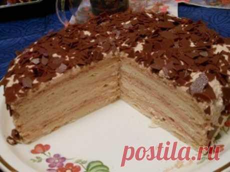 """Торт """"Крем-брюле"""" - Простые рецепты Овкусе.ру"""