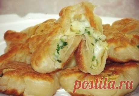 Кефирные конвертики с сыром - Кулинарный рецепт - Повар в доме