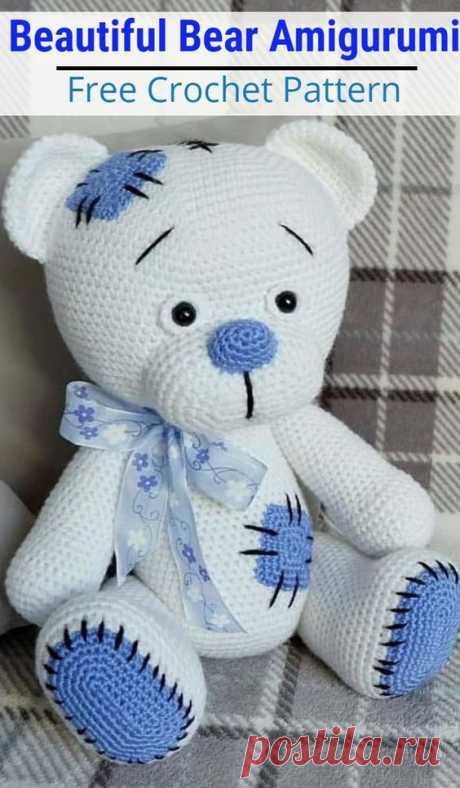 Free Crochet Bear Patterns Amigurumi Patterns 2019 Amigurumi Bear Crochet Pattern Ideas #crpchetpatterns #freecrochetpatterns #crochetteddybears #crochetbearpatterns The post Free Crochet Bear ...