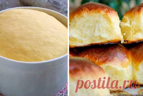 Пышные, мягкие и очень вкусные булочки по ГОСТу к чаю — ХОЗЯЮШКА