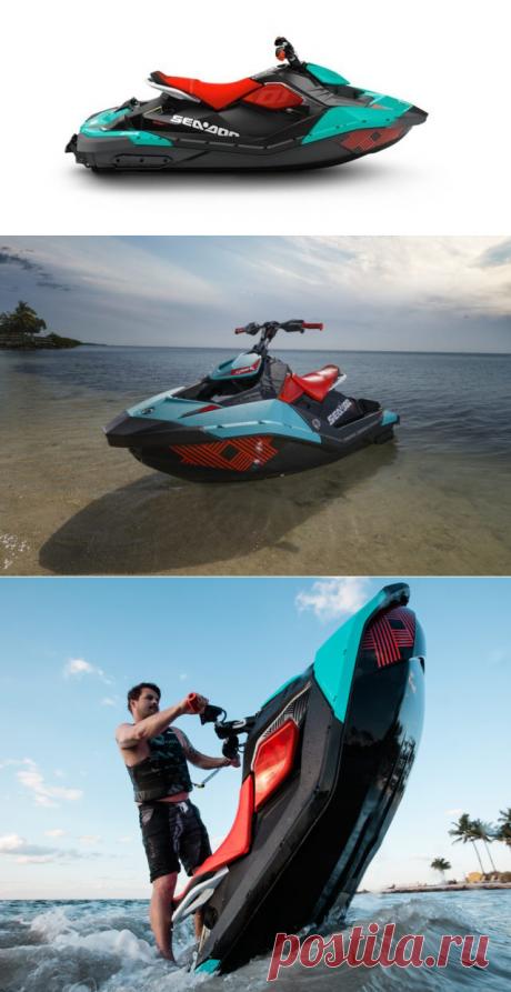 ТТХ гидроцикла Sea-Doo Spark. Модельный ряд и отзывы