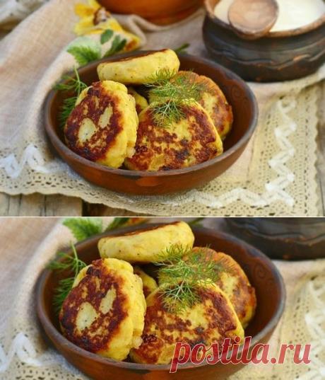 Картопляники – готовится из картофельного пюре и мясного фарша.