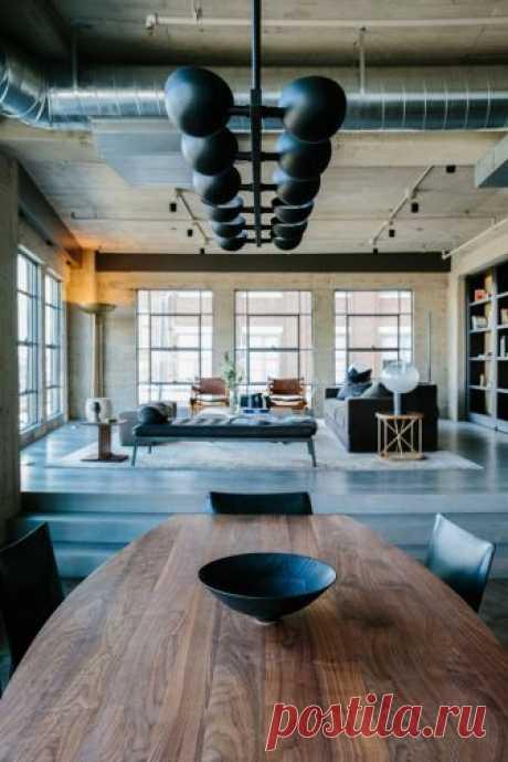 Брутальная элегантность: индустриальный лофт в Лос-Анджелесе - Дизайн интерьеров | Идеи вашего дома | Lodgers