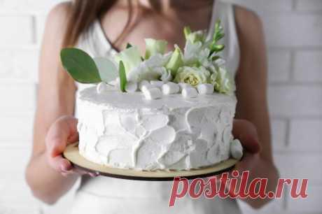 Как приготовить крем для торта из зефира