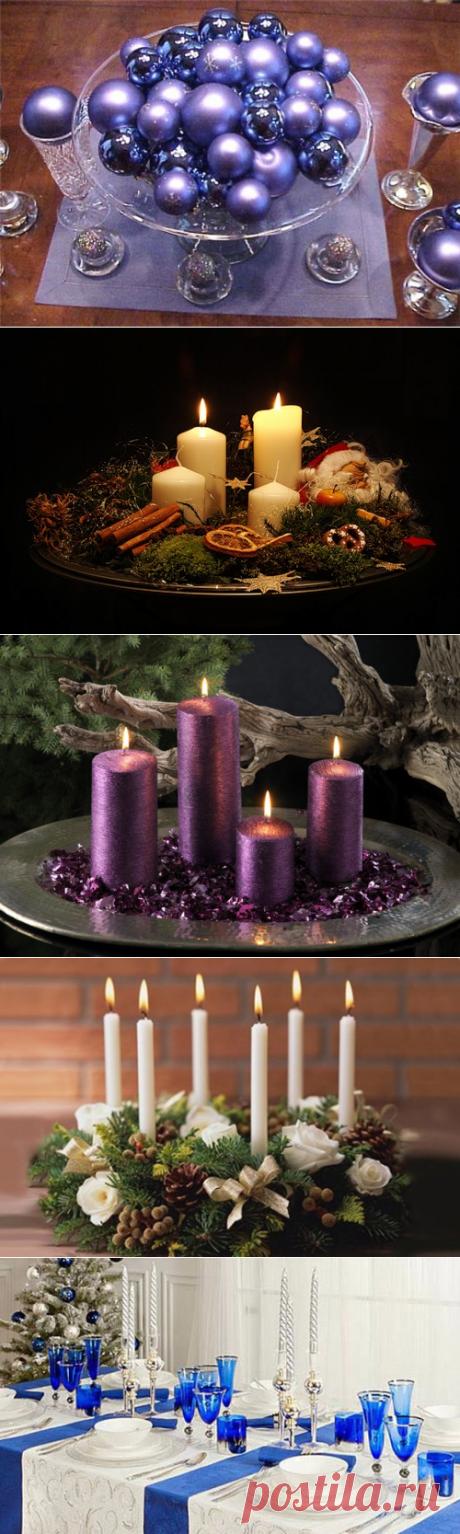 🎅65 идей сервировки новогоднего стола🎅