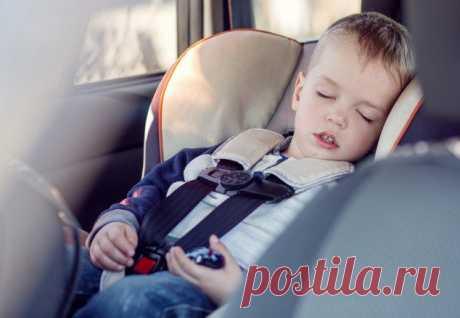 Как уложить ребенка спать в поездке? / Малютка