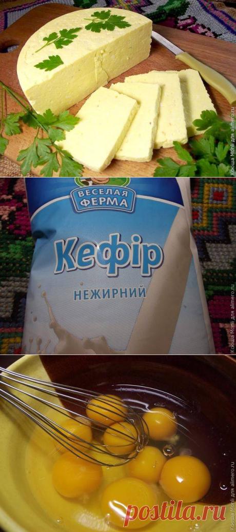 Ленивая домашняя брынза / Рецепты с фото