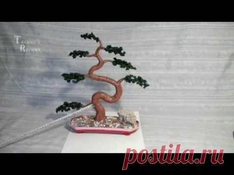 Искусственный бонсай. Дуб. Artificial bonsai. Банкан.