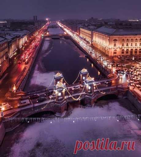 Доброй ночи, красивый город!  Продолжите фразу: «Я люблю свой город за...»  gdeanton_