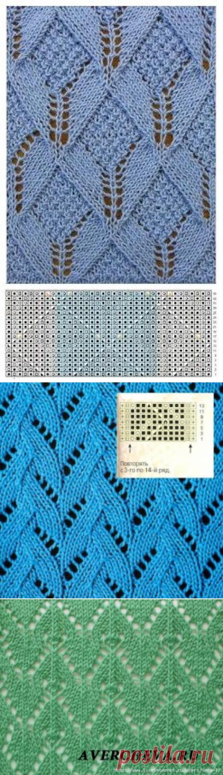 Узоры для вязания спицами 161