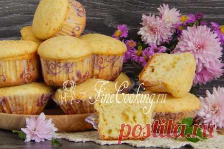 Творожные кексы - рецепт с фото