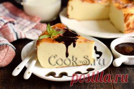 Пирог запеканка из замороженного кефира - рецепт с фото