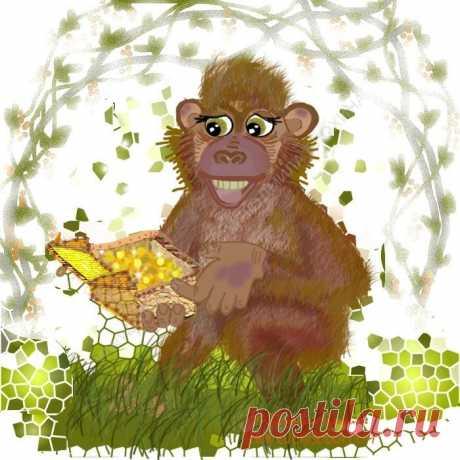Завистливая обезьяна