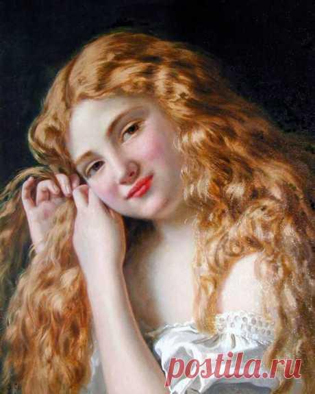 Художница Sophie Gengembre Anderson.