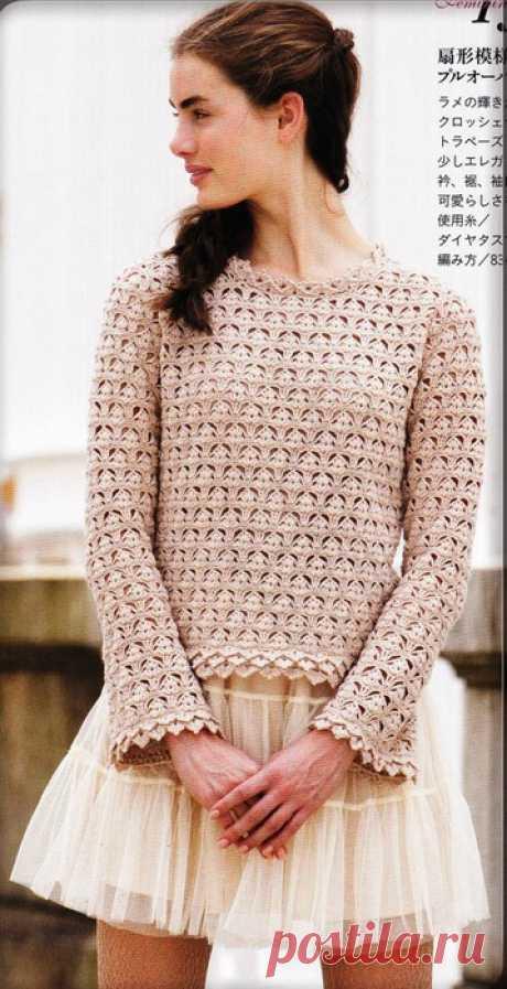 crochet un pull - La Grenouille Tricote