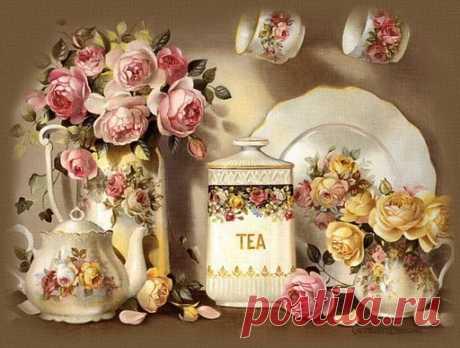 винтажные картинки для декупажа чай: 15 тыс изображений найдено в Яндекс.Картинках