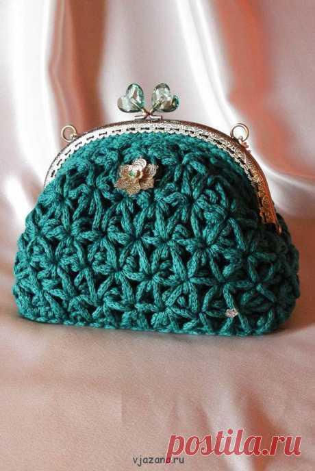 Модные сумочки из ниток «Спагетти»   Вязана.ru