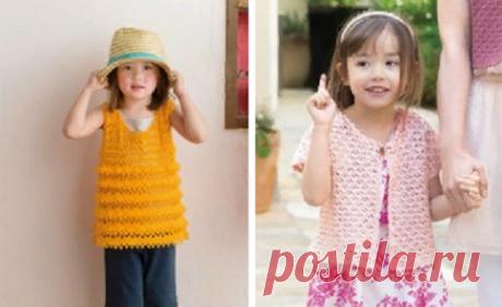 Вяжем детям стильные вещи со схемами | Красивое и интересное вязание | Яндекс Дзен