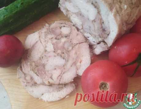 Домашняя колбаса в банке – кулинарный рецепт