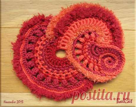 3ème tuto de crochet Freeform de Sophie - 3ème étape - Easy Crochet Bonsoir Juste pour vous montrer l'évolution de mon travail. Il reste encore une belle extensionà crocheter avant d'avoir terminé...