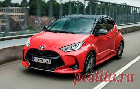 Хэтчбек Toyota Yaris 2020 для Европы