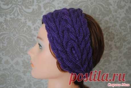 поиск на постиле вязание повязки на голову