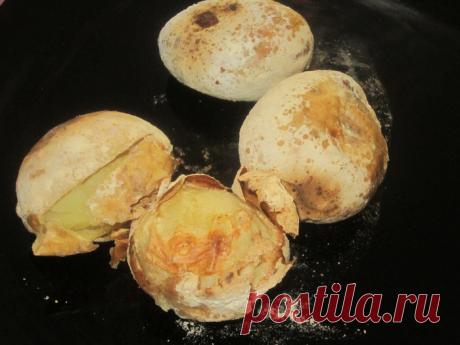 Картошка печеная в муке и соли самое полезное из многочисленных картофельных блюд