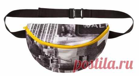 Как сшить сумку на пояс — Мастер-классы на BurdaStyle.ru