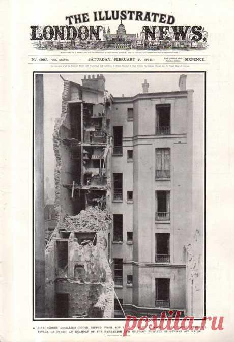 1916.02.05 - The Illustrated London News | Sovetika.ru - обложки старых журналов