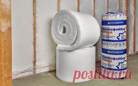 Холлофайбер — эффективный утеплитель для дома: не боится влаги, не плесневеет, дышит и хорошо гасит шум | ZAGGO.RU | Яндекс Дзен