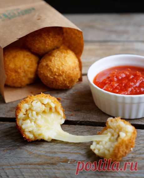 Рисовые шарики Аранчини — Кулинария — это искусство