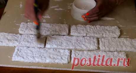 Как сделать имитацию кирпичной кладки из лотков для яиц: подробное описание и мастер-класс с фото