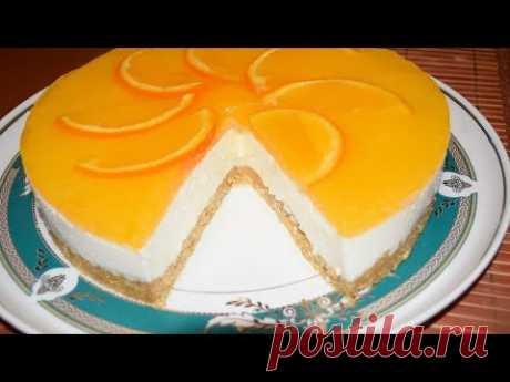 Торт без выпечки на сметане - Лучший сайт кулинарии