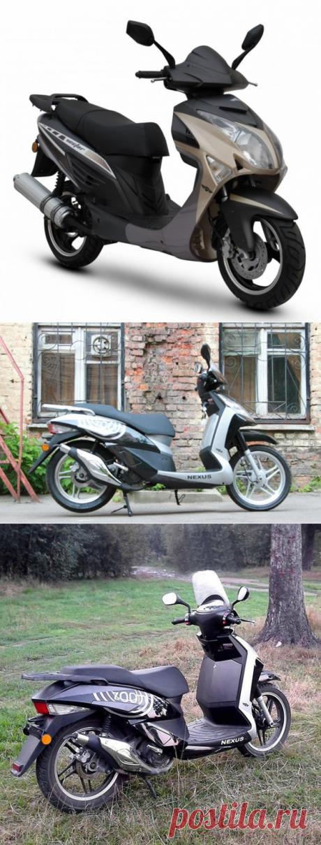 Скутер Nexus (Нексус) - характеристика, отзывы, цена