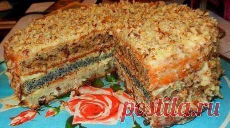 Популярный трехслойный домашний торт. Этот торт пользуется бешеной популярностью. Почему? Да потому что он вкусный и готовится достаточно просто! Ингредиенты Тесто на один корж: ✓ Сметана -1/2 стакана объемом 200 мл; ✓ Сахар — 1/2 стакана объемом 200 мл; ✓ Куриное яйцо — 1 штука; ✓ Мука — 3 ст...