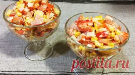 Tremendous festive Lyamur salad: very simply and quickly Bon appetit!