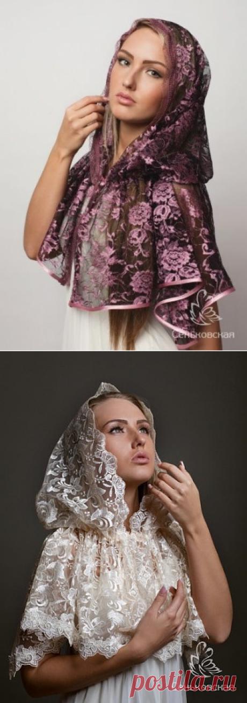Шитье - Аксессуары - Шьем платки - Платок для церкви