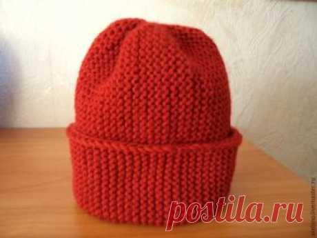 Как связать модную шапку-бини – Ярмарка Мастеров