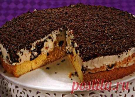 Творожно-сметанный торт с черносливом - Пошаговый рецепт приготовления с фото - Творожные торты - Торты