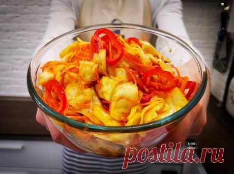 Открыл для себя лучший рецепт капусты «по-корейски», очень вкусно. Готовлю уже вторую кастрюлю и буду делать еще, делюсь | MEREL | KITCHEN | Яндекс Дзен