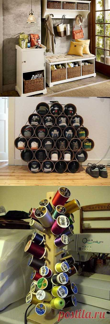 Идеи для хранения вещей в квартире: фото | Дом Мечты