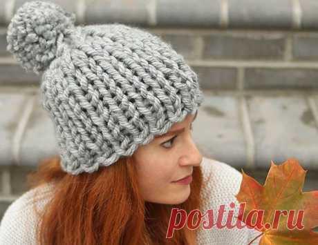 Шапка спицами — Топ 16 шапочек, вязание с описанием и схемами