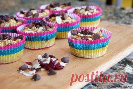 Овсяные чашечки - супер десерт! — Мегаздоров