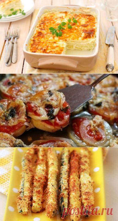 Запеченные кабачки в духовке. 7 простых рецептов — Вкусно!