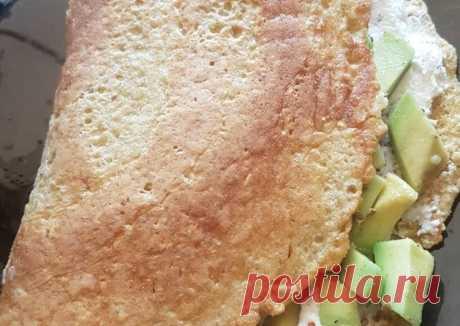 Овсяноблин с авокадо - пошаговый рецепт с фото. Автор рецепта Виктория . - Cookpad