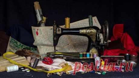 """Всё для кройки и шитья. От швейной машинки до хитрых """"примочек""""."""